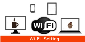 Wi-Fi 無線LANの無線機能の設定